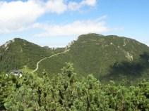 """Der zweite Gipfel: """"eine Autobahn"""" laut meiner Tante."""