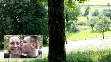 Ein Küsschen im Grünen :)