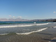 Sandstrand und Meer.