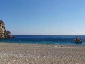 Strand bei Agiofarango.