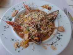 Lecker: Risotto mit Meeresfrüchten