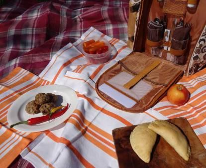 Unsere Picknickdecke...