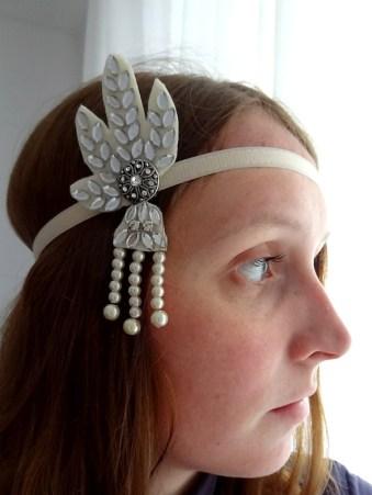 """Haarband """"Der große Gatsby"""""""