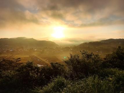 月岡公園からの風景