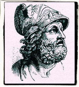 Personajes célebres que empiecen por la letra A Agamenon