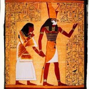 Horus y el trono egipcio