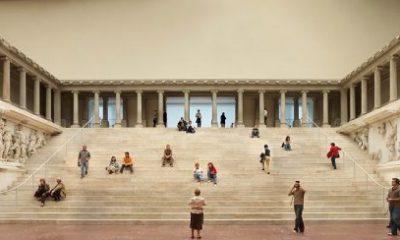 Qué es el Altar de Pérgamo