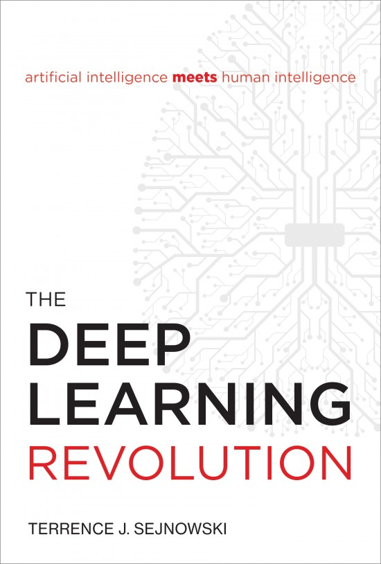 The Deep Learning Revolution by Terrence J. Sejnowski book cover