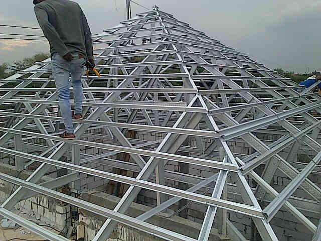 harga rangka atap baja ringan di malang borongan per meter daftar