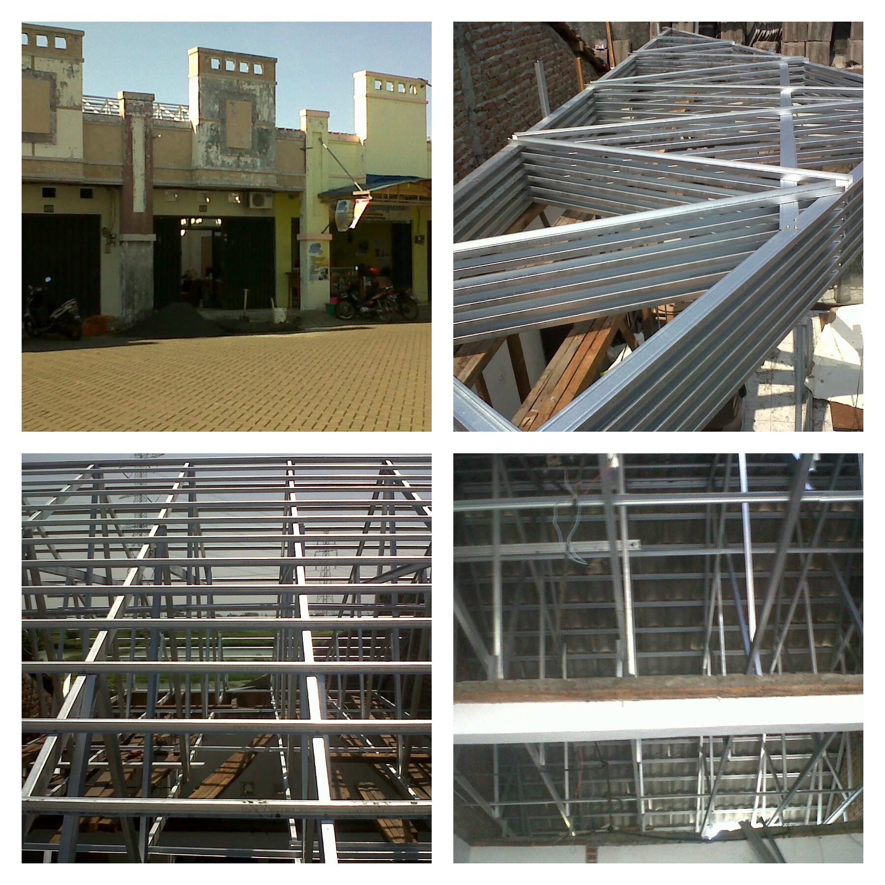 pemasangan atap baja ringan balikpapan galvalum | mitra bangun griyo