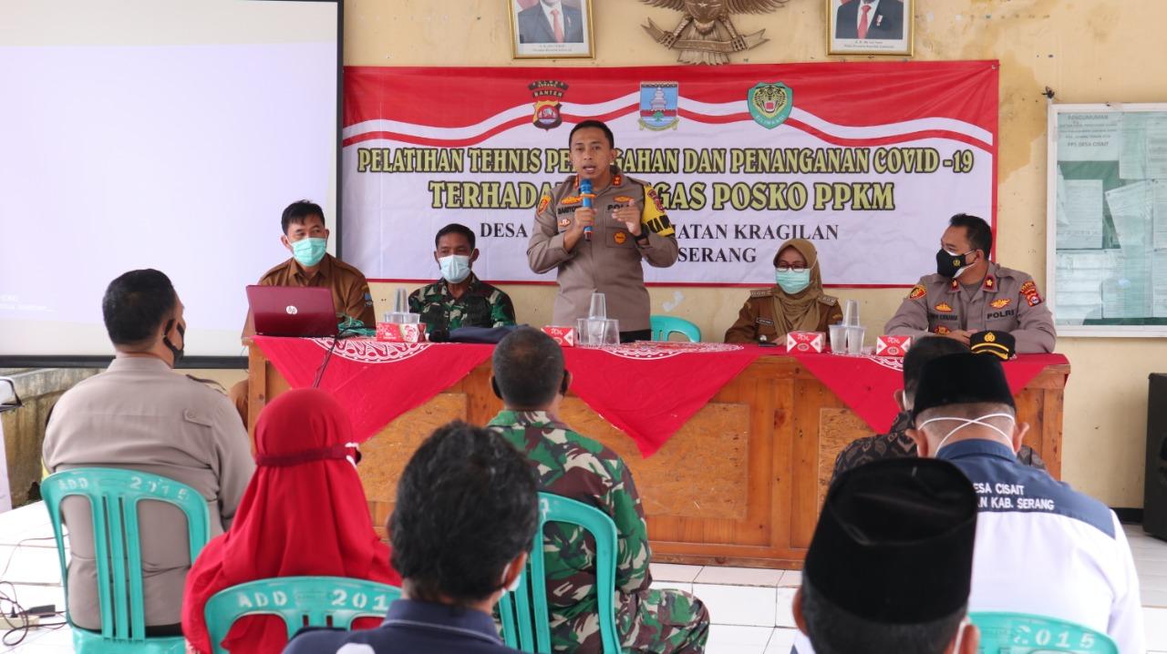Gambar Kapolres Serang Imbau Petugas PPKM Patuhi Prokes 17