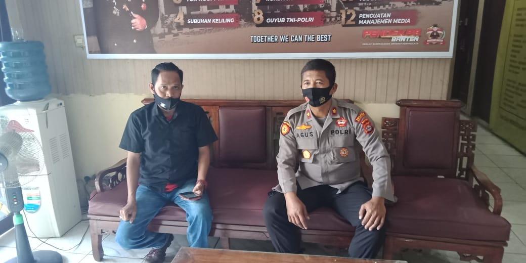 Gambar Polsek Copocok Jaya ngopi wae bersama Awak Media perkuat Sinergitas 9