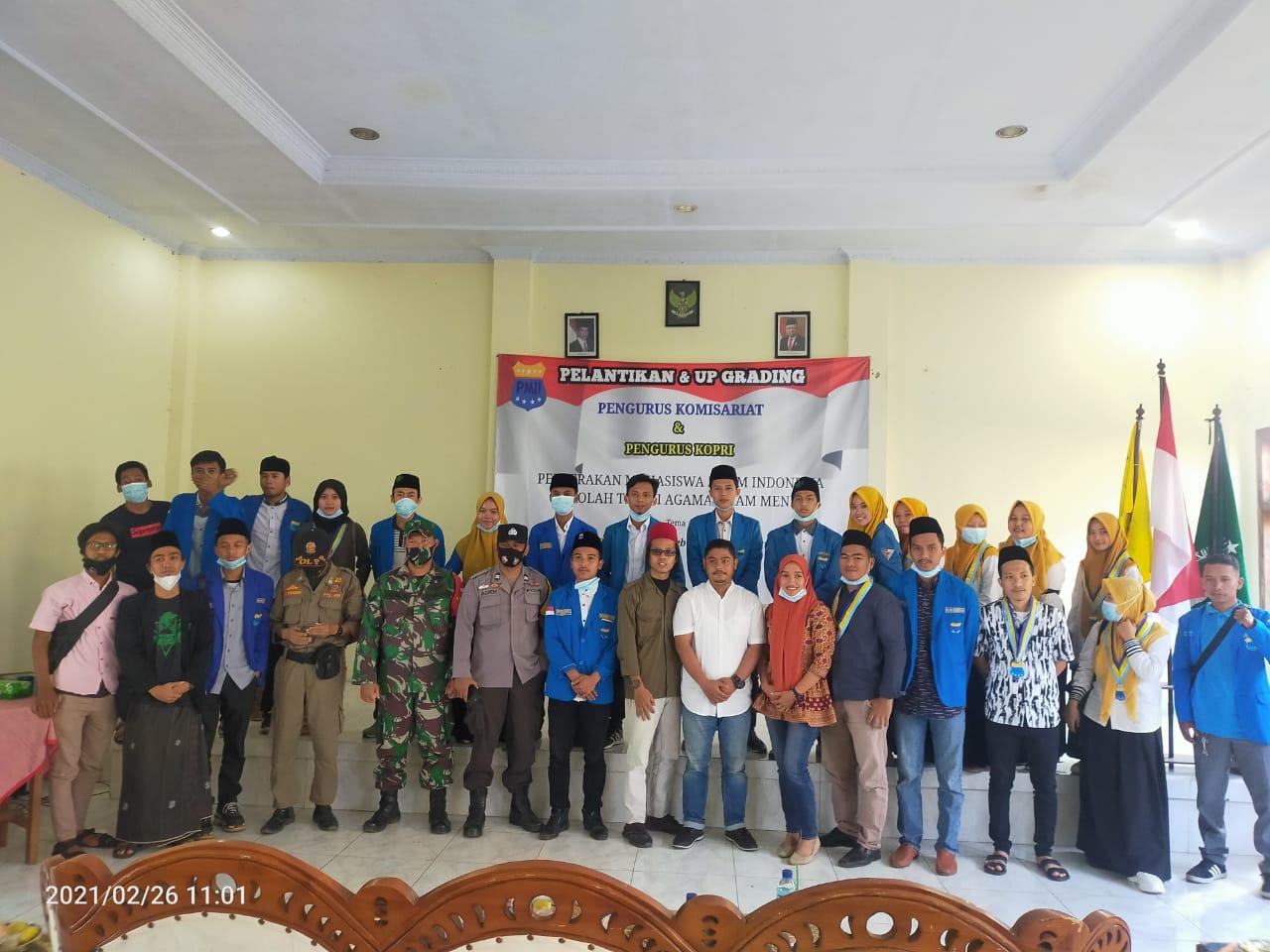 Gambar Pelantikan Pengurus Komisariat PMII Menes, Ucu Fahmi : Pengurus Baru Semangat Baru 17