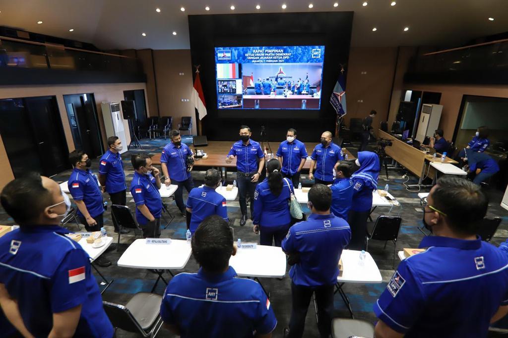 Gambar Pemberhentian Tidak Hormat Terhadap 6 Kader, Yoyon Sujana Dukung Keputusan Ketua Umum Partai Demokrat 15
