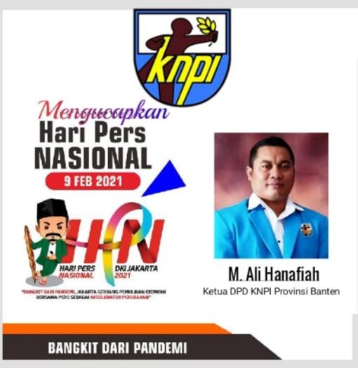 Gambar Ketua DPD KNPI Provinsi Banten Mengucapkan HIM 2021 15