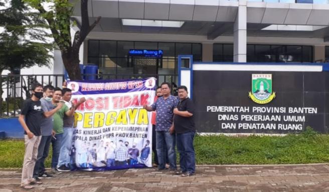 Gambar Aliansi Aktifis KP3B Menduga ada Pengaturan Soal Paket di PUPR Banten 17