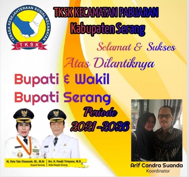 Gambar TKSK Kec. Pabuaran Mengucapkan Selamat Atas Dilantiknya Bupati & Wakil Bupati Serang 13