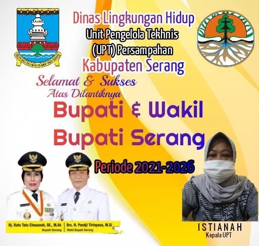 Gambar Unit Pengelola Tekhnis Persampahan di LH Kabupaten Serang Mengucapkan Atas Dilantiknya Bupati & Wakil Bupati Serang 15
