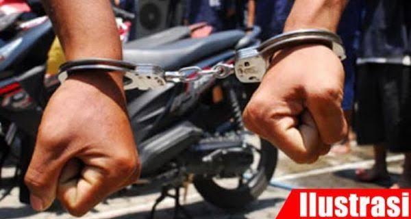 Gambar Kawanan Spesialis Pencuri Motor Parkiran Ditangkap Satreskrim Polres Cilegon 15