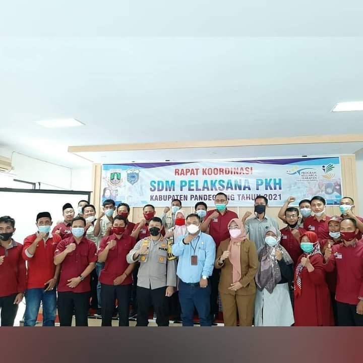 Gambar Dinas Sosial Lakukan Rapat Koordinasi Pelaksana SDM PKH 2021 11