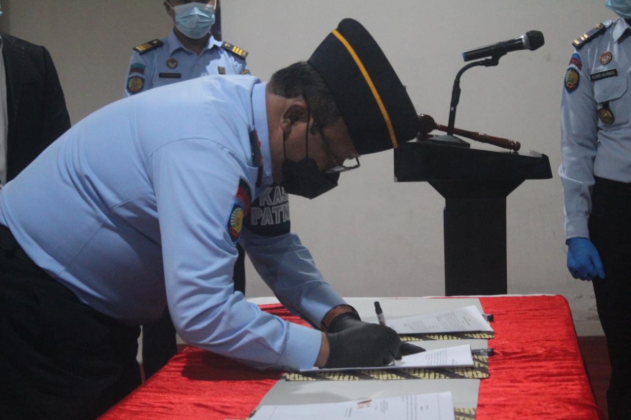 Gambar Kalapas Cilegon Tandatangani Perjanjian Kerjasama dengan Beberapa Institusi dan Lembaga 11