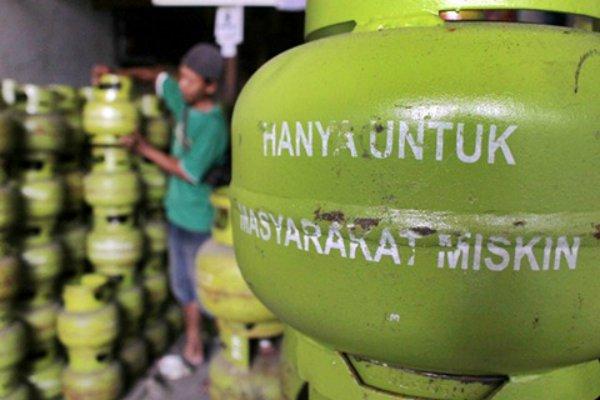 Gambar Diduga Agen Anten Anugerah Cahaya Utama Distribusikan Tabung Elpiji Ke Pangkalan Melebihi HET 13