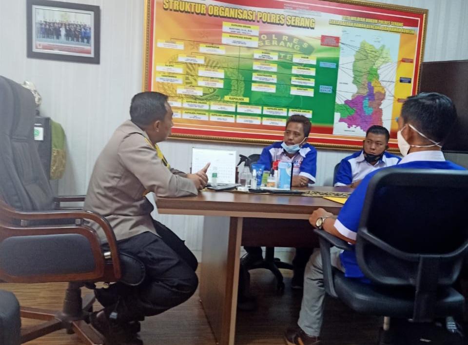 Gambar Kapolres Serang Sambut Baik Kedatangan MOI DPC Kabupaten Serang 17
