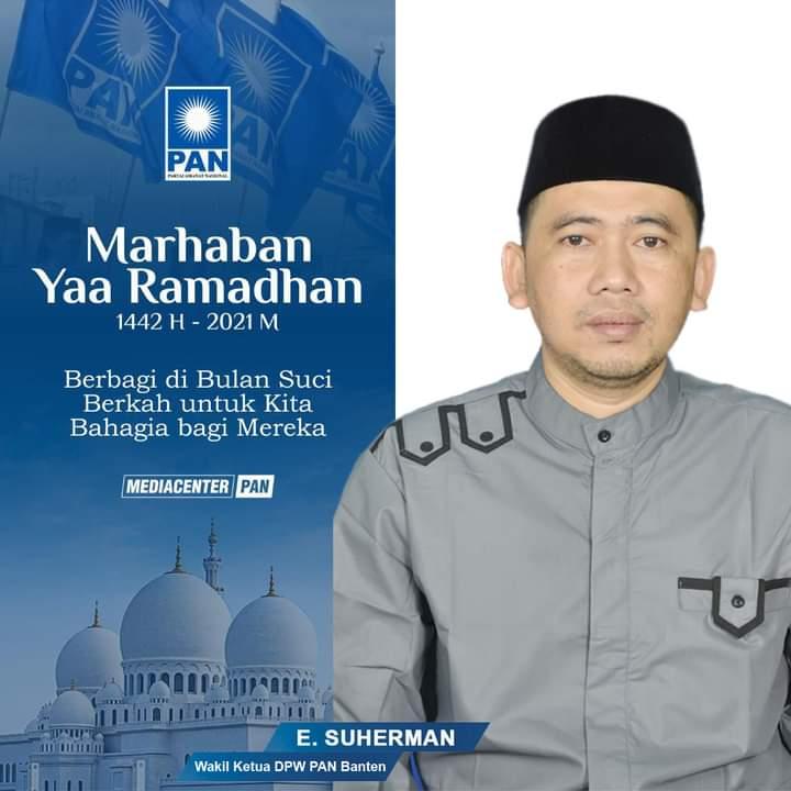Gambar Wakil Ketua DPW PAN Banten Mengucapkan Marhaban Ya Ramadhan 17