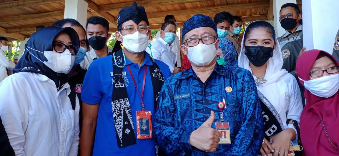 Gambar Dampingi Sandiaga Uno Resmikan Kampung Agrinex Cikeusik, Begini Kata Kepala Dinas Pertanian Banten 13