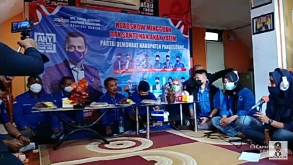 Gambar Sambut Ramadhan, Partai Demokrat DPC Pandeglang Gelar Roadshow Religius dan Santunan Yatim Piatu 1