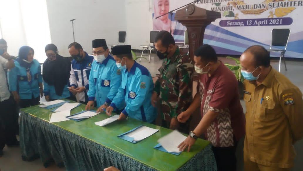 Gambar Pengurus KOPTAN Banten Resmi Dikukuhkan oleh Dinas Koperasi dan UKM 17