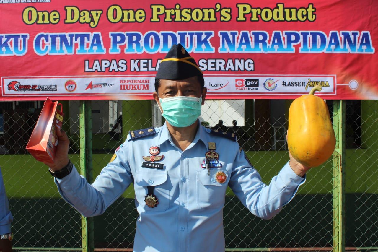 Gambar Lapas Serang Gelar One Day One Prison's Product 1