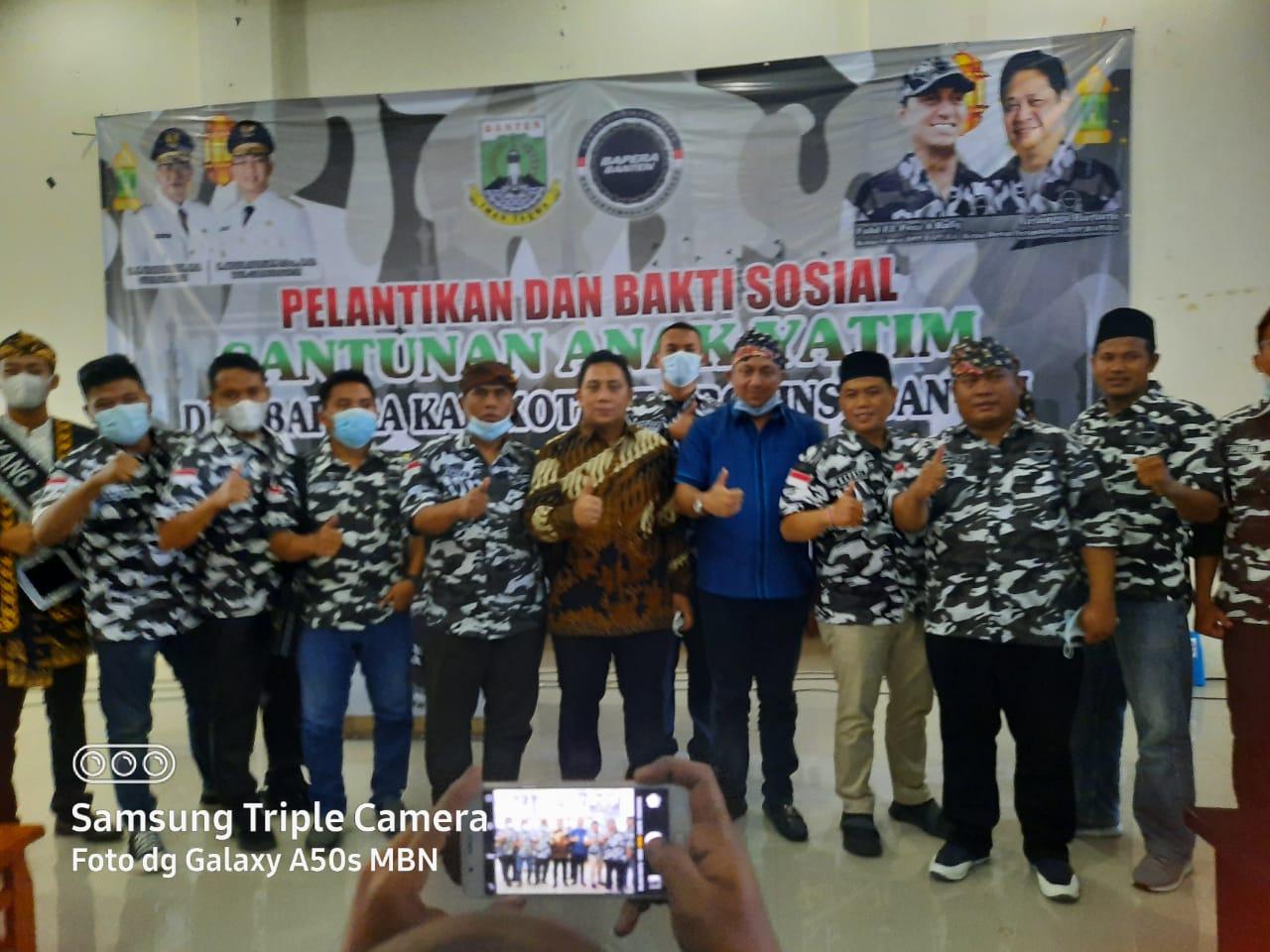 Gambar Sah, Ali Hanafiah Jabat Ketua DPD Bapera Banten 13
