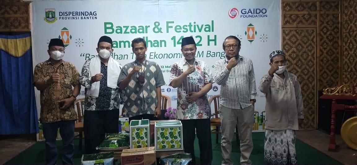 Gambar Bazar dan Festival Ramadhan, Gaido Foundation Gelar Diskusi Bersama PWI dan SMSi Banten 11