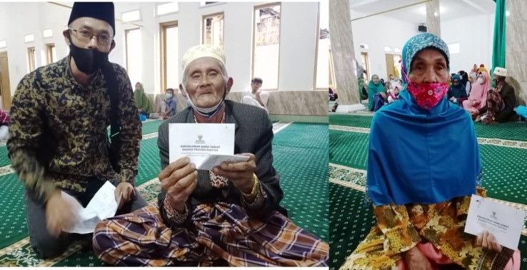 Gambar Baznas dan UPZ Pemprov Banten Salurkan Zakat, Santuni Ratusa Yatim dan Jompo Dhu'afa 13
