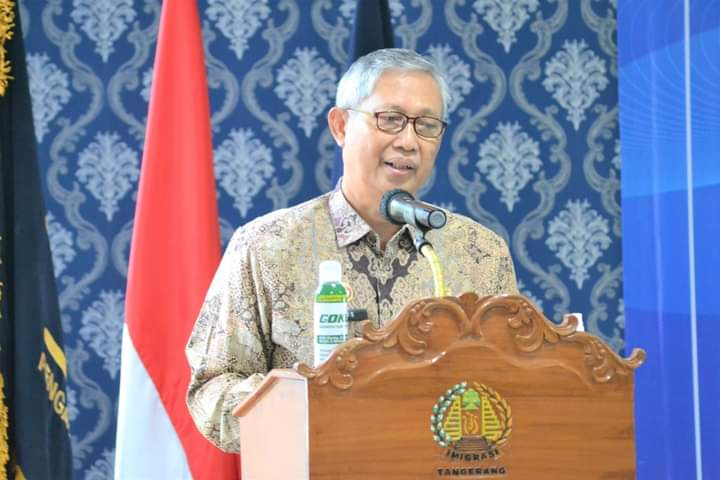 Gambar Kakanwil Kemenkuham Banten Larang ASN Mudik Lebaran Tahun 2021 15