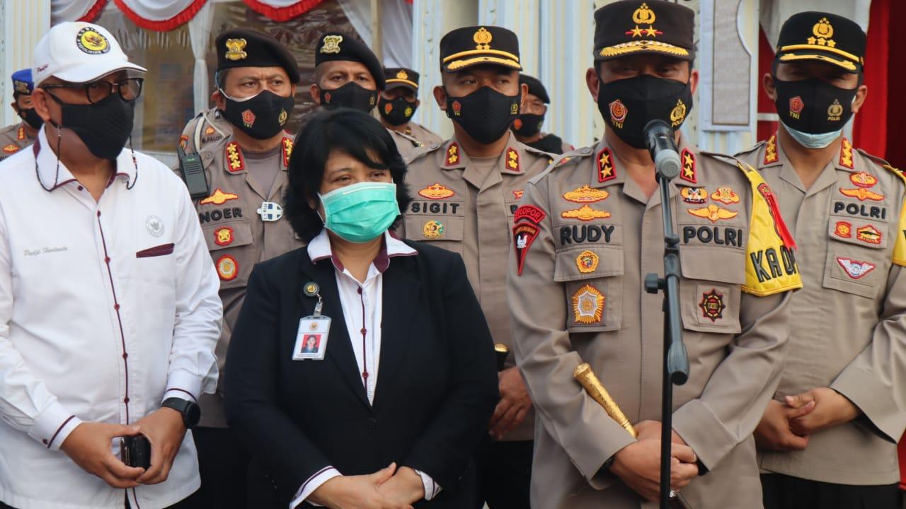 Gambar Kapolres Cilegon Damping Kapolda Banten Terima Kunjungan Kompolnas Di Merak 15