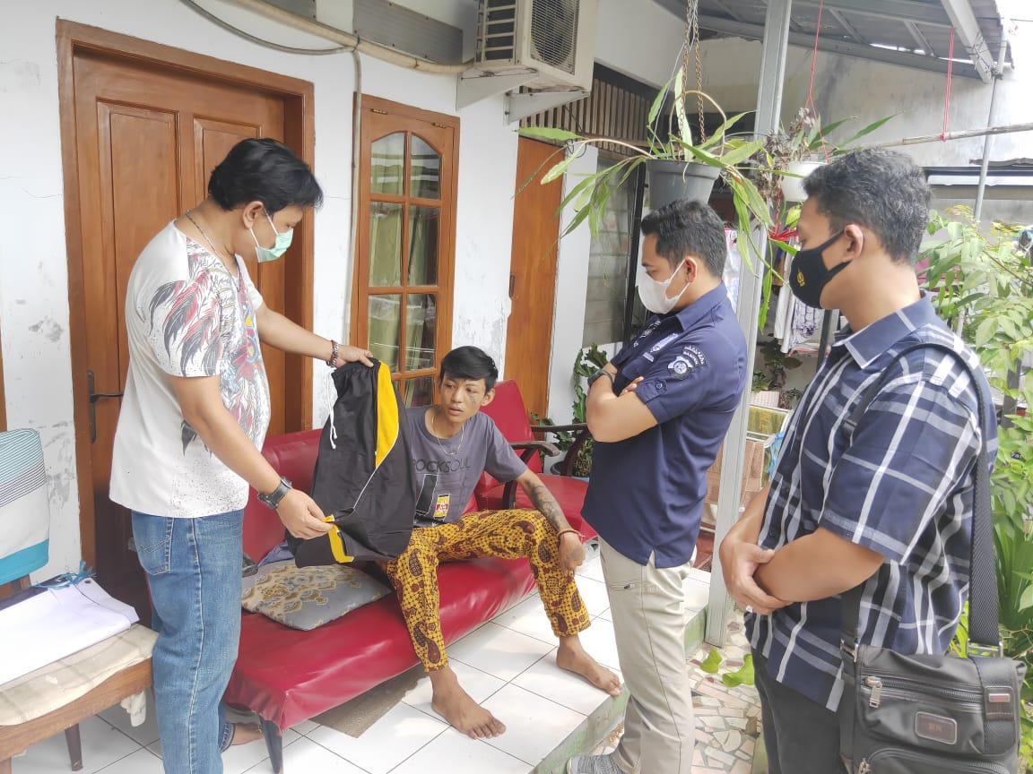 Gambar Satreskrim Polres Serang Kota Ringkus Pelaku Pembacokan 13