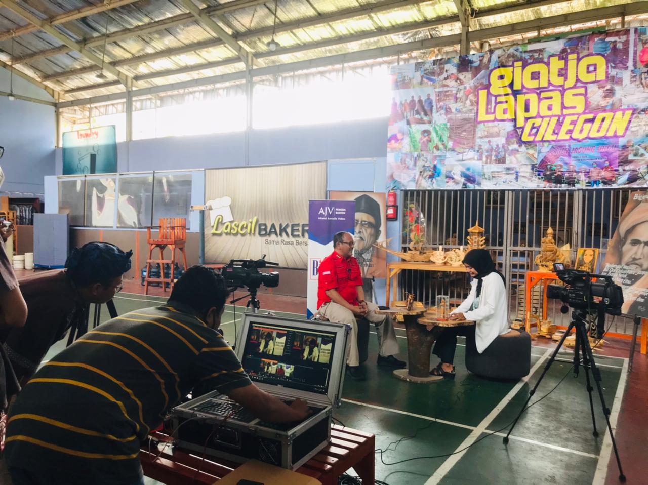 Gambar Terkait Kunjungan AJV Banten ke Lapas Cilegon, Ketua AJV: Kegiatan Positif WBP Akan di Informasikan Kepada Masyarakat Melalui Informasi yang Diperoleh 13