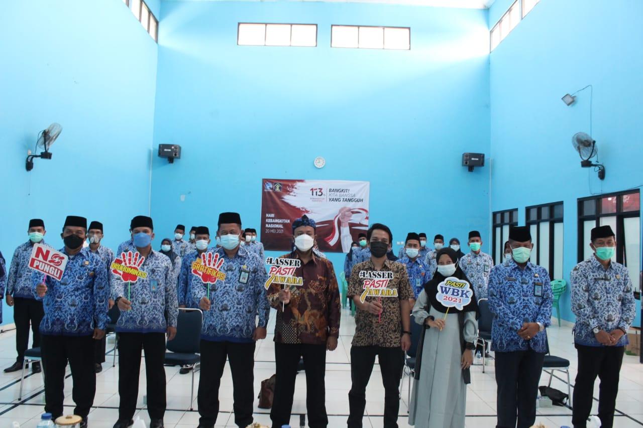Gambar Capaian Menuju WBK dan WBBM, Ombudsman RI Provinsi Banten Kunjungi Lapas Kelas IIA Serang 1