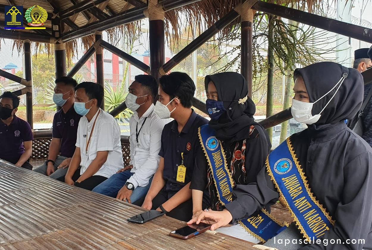 Gambar Lapas Cilegon Laksanakan Giat Rehabilitasi Medis bersama Jawara Anti Narkotika 13