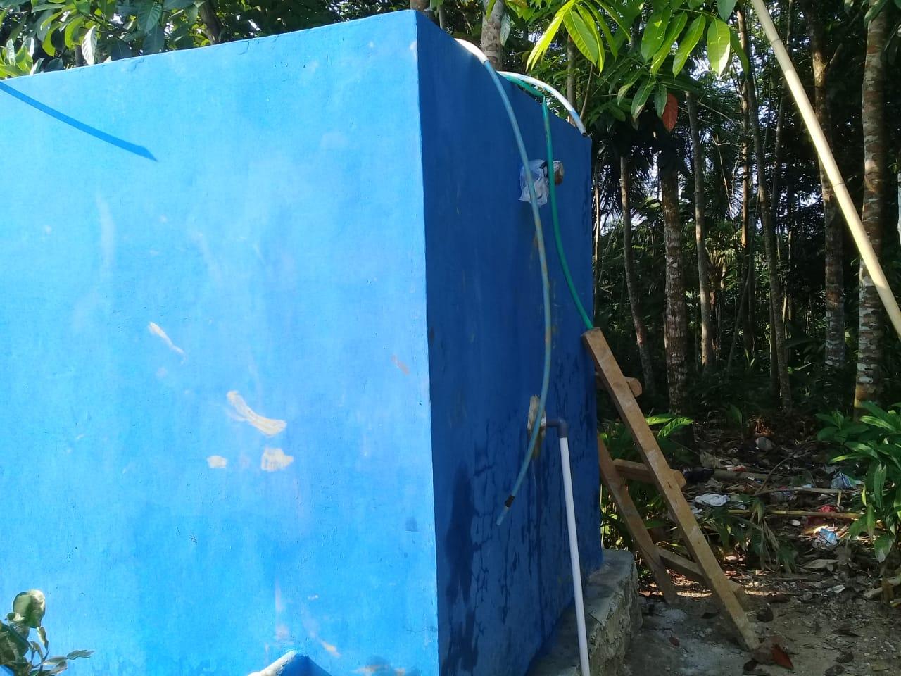 Gambar Pembangunan Broncaptering di Ciseureuheun Dikeluhkan Warga, Ini Dalih Direktur CV Sri Bintang 11