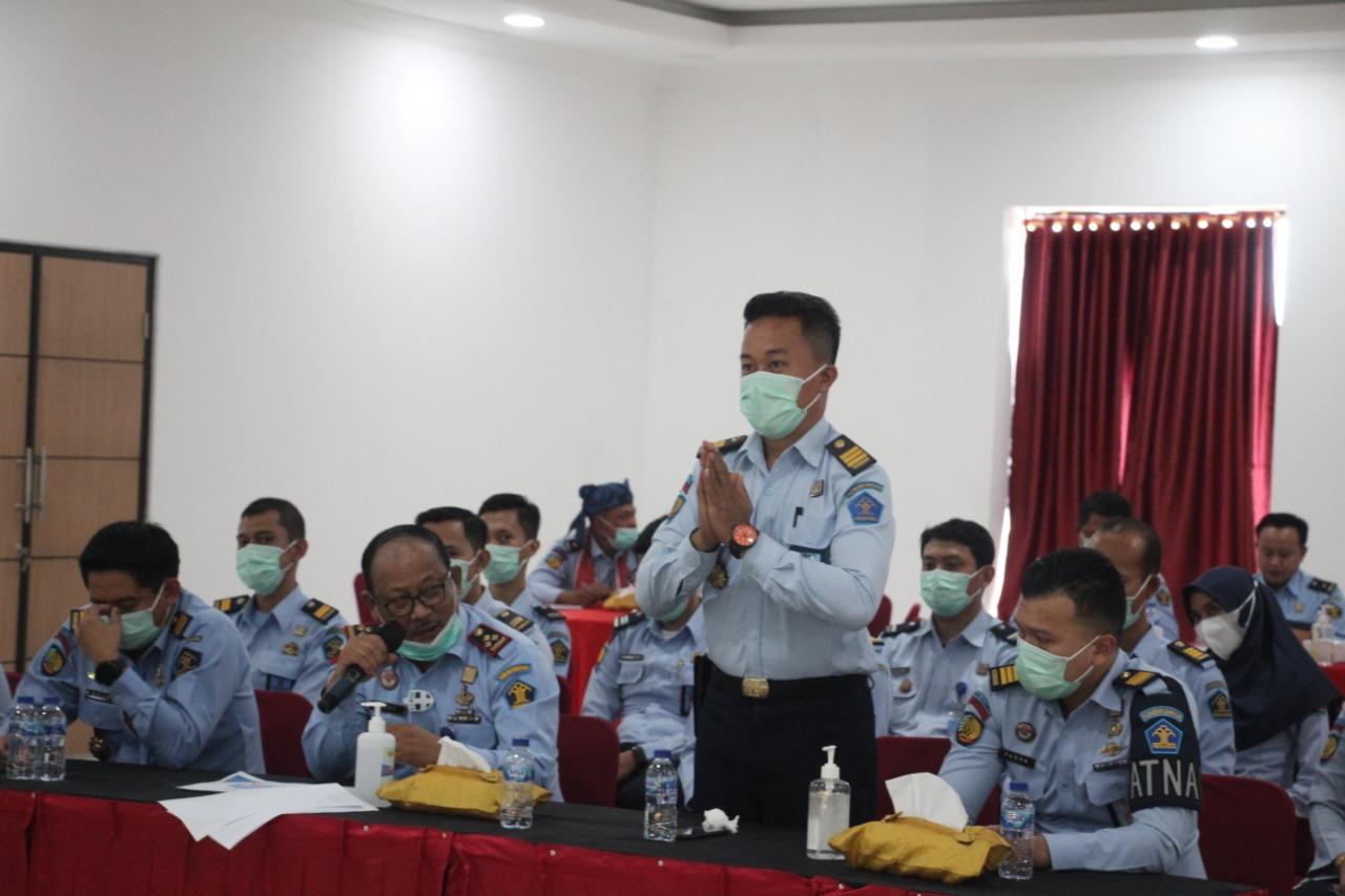 Gambar Ditengah Pandemi Covid-19 Lapas Cilegon Mantapkan Persiapan Ikuti Simulasi DEPZI Menuju WBK 11