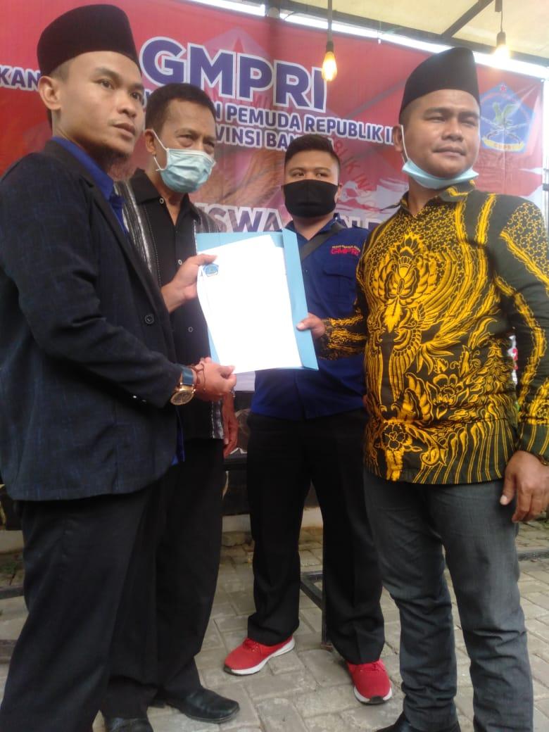 Gambar Sah, SK Kepengurusan GMPRI Provinsi Banten Diserahterimakan 13