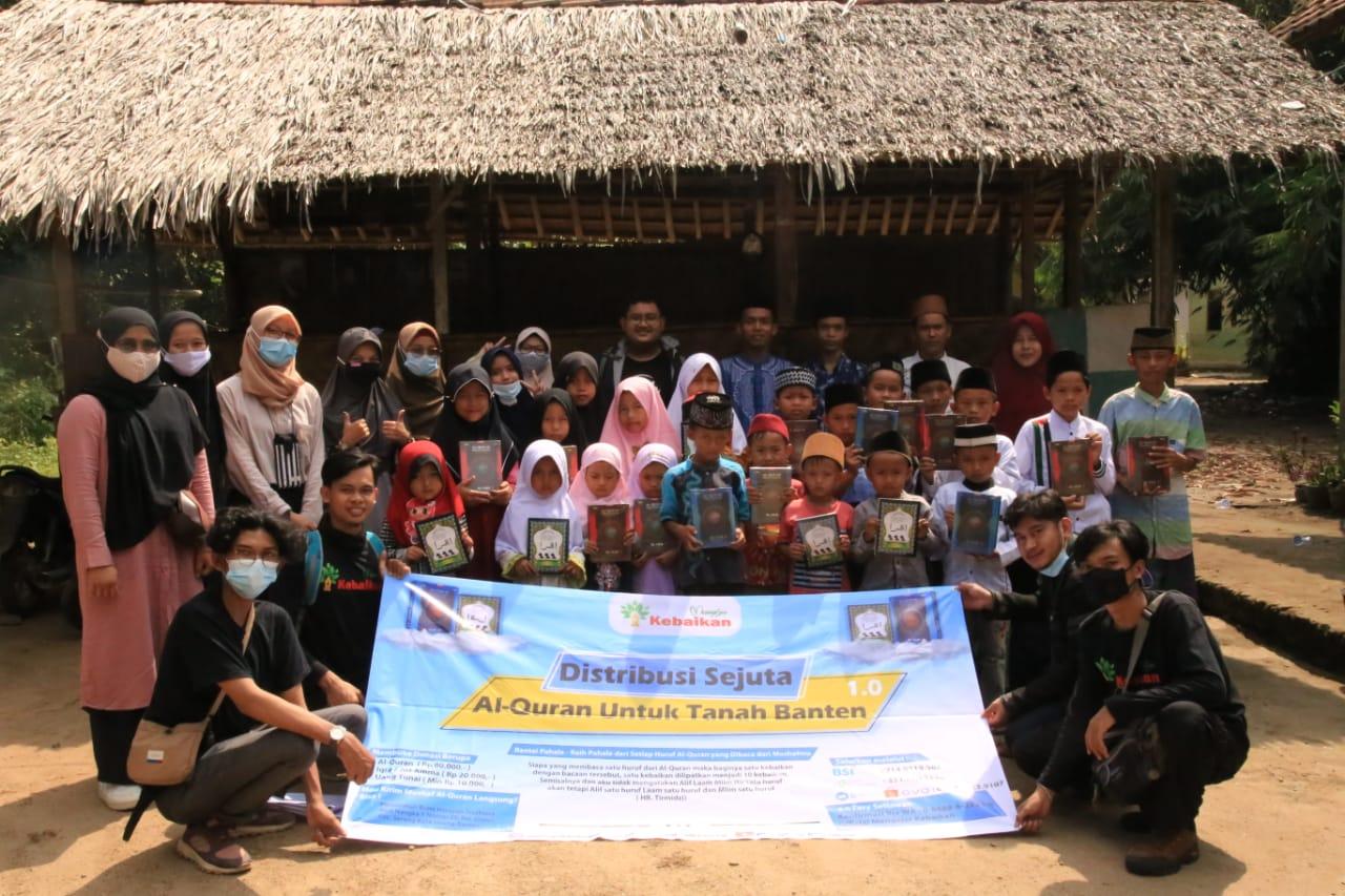 Gambar Komunitas Mengejar Kebaikan Tebar Sejuta Al-qur'an Untuk Tanah Banten 13