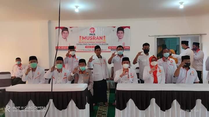Gambar Sukses Melantik di 43 Kelurahan se-Kota Cilegon DPD PKS Gelar MUSRAN 11