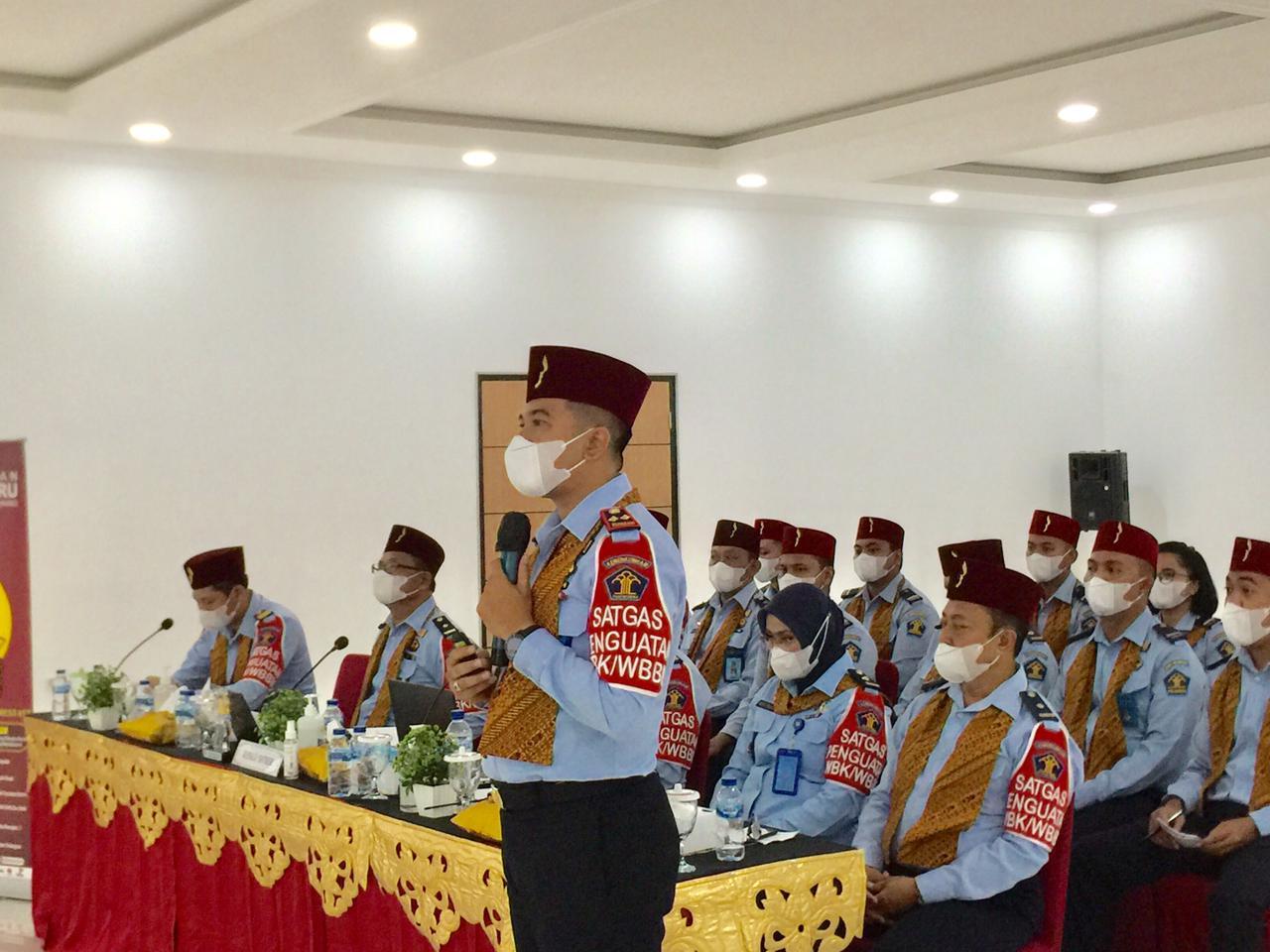 Gambar Gelar Evaluasi Pembangunan ZI, Kalapas Pemuda Tangerang: Ini Komitmen Bersama 13
