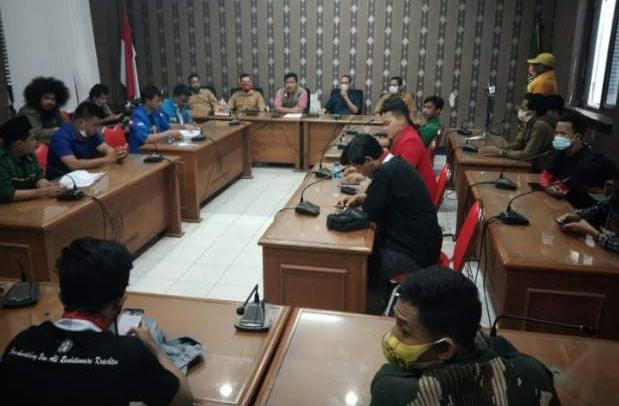Gambar Mahasiswa Gelar Aksi di Depan DPRD Lebak Soal Draf Raperda RTRW, Ini Jawaban Anggota Pansus 13