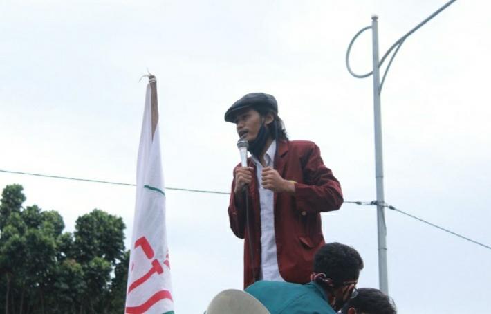 Gambar BEM Seluruh Indonesia Korda Banten Dukung Gubernur Berantas Korupsi 1