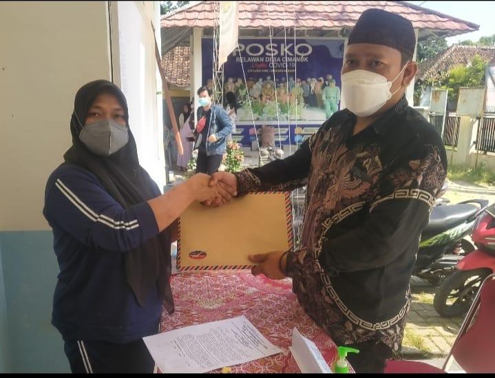 Gambar Pengawalan Pendaftaran Balon Kades Rahmatullah YJ. SE, Bukti Dukungan dari Tokoh Masyarakat 17